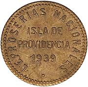 0.12½ Bolívar (Isla de Providencia Leper Colony) – obverse