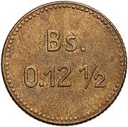 0.12½ Bolívar (Isla de Providencia Leper Colony) – reverse
