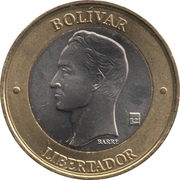 1000 Bolívares – reverse