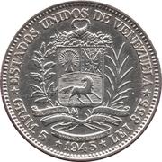 1 Bolívar -  obverse