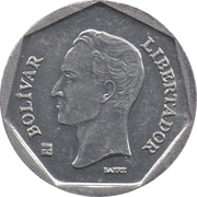 10 Bolívares (non-magnetic) – reverse