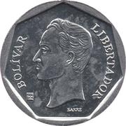 20 Bolívares (non-magnetic) – reverse