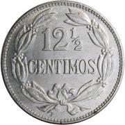 12½  Céntimos – reverse