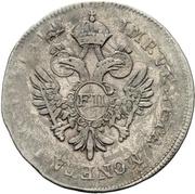 ½ Lira - Franz II – obverse