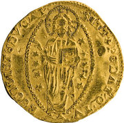 1 Zecchino - Bartolomeo Gradenigo – reverse