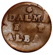 1 Soldo (Dalmatia and Albania) – reverse