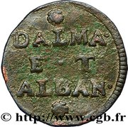2 Soldi (Dalmatia & Albania) – reverse