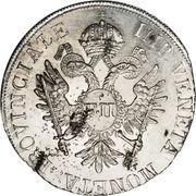 1 Lira - Franz II – obverse
