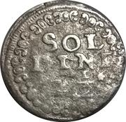 10 Tornesi, 2½ Soldini – reverse
