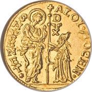 1 Zecchino - Alvise Mocenigo IV – obverse