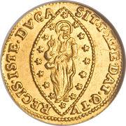 1 Zecchino - Alvise Mocenigo IV – reverse