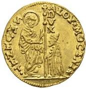 1 Zecchino - Alvise Mocenigo II – obverse