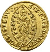1 Zecchino - Alvise Mocenigo II – reverse