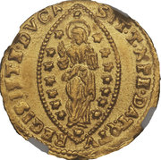 1 Zecchino - Alvise Mocenigo III – reverse
