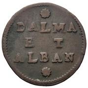 2 Soldi ( Dalmatia et Albania ) Type S.MARC.VEN – reverse
