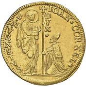 15 Zecchini - Giovanni Corner II – obverse