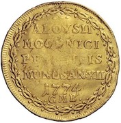 1 Osella - Alvise Mocenigo IV – reverse