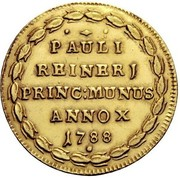 1 Osella - Paolo Renier – reverse