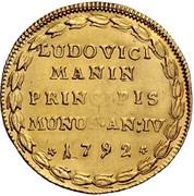 1 Osella - Lodovico Manin – reverse