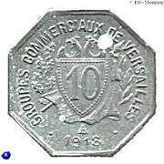 10 Centimes (Versailles) – reverse