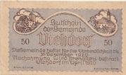 50 Heller (Viehdorf) -  obverse
