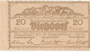 20 Heller (Viehdorf) -  reverse