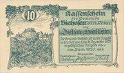 10 Heller (Viehofen) -  obverse