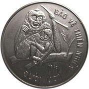 10 Đồng (Crested Gibbons) – reverse