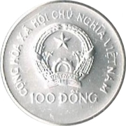 100 Đồng (World Cup Mexico 1986) – obverse