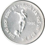100 Đồng (World Cup Mexico 1986) – reverse