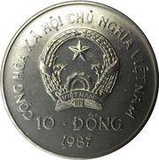 10 Đồng (Orangutan) – obverse
