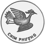 5 Đồng (Phoenix; Silver issue) – reverse