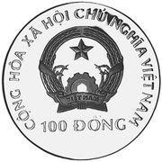 100 Đồng (Elephant) – obverse