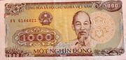 1 000 Đồng – obverse