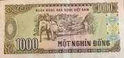 1 000 Đồng – reverse