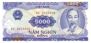 5 000 Đồng – obverse