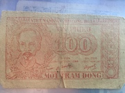 100 DONG – obverse