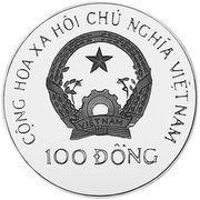 100 Đồng (Summer Olympics Barcelona 1992) – obverse