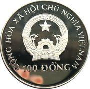100 Đồng (Rhamphorhynchus) – obverse