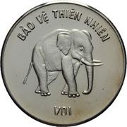 100 Đồng (Elephant) – reverse