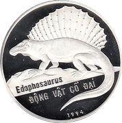 100 Đồng (Edaphosaurus) – reverse