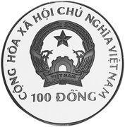 100 Đồng (Edaphosaurus) – obverse