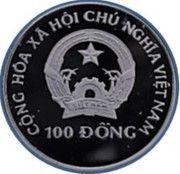100 Đồng (Winter Olympics Albertville 1992) – obverse