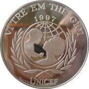 100 Đồng (UNICEF) – obverse