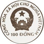 100 Đồng (Summer Olympics Atlanta 1996) – obverse