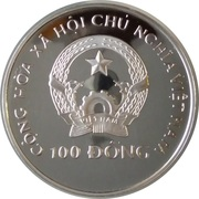 100 Đồng (World Cup Italy 1990) – obverse