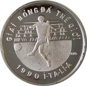 100 Đồng (World Cup Italy 1990) – reverse