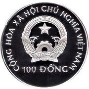100 Đồng (World Cup USA 1994) – obverse