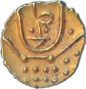 1 Fanam - Nayaks of Chitradurga -  obverse