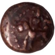 1 Kasu Raghunatha Nayak(Nayaks of Thanjavur) – obverse